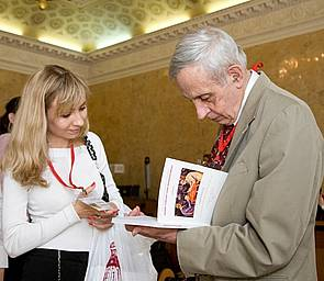 Photo Dr John Nash and Dr. Mamkina 22